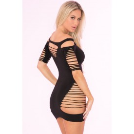Бесшовное эротическое платье с перфорацией Back To Bad Seamless Dress